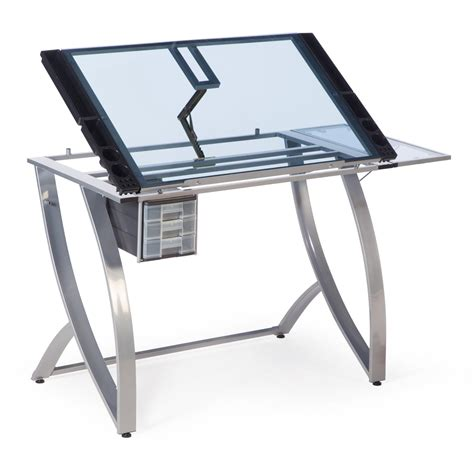 Futura Drafting Table Save 3 Studio Designs Futura Advanced Drafting Table With Side Shelf