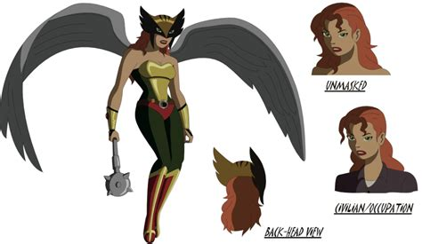 Justice League Film Hawkgirl | dc animated movie hawkgirl by amtmodollas on deviantart