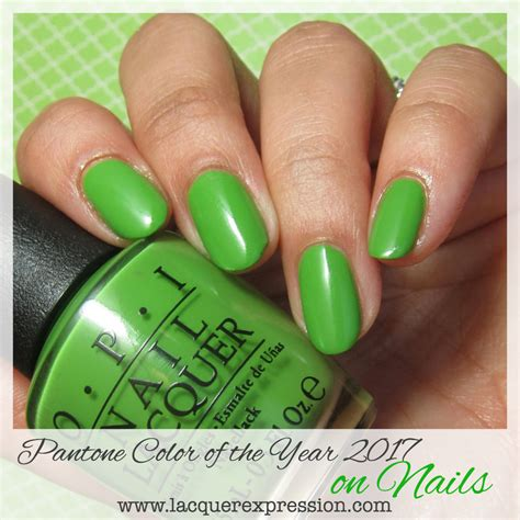pantone of the year 2017 pantone color of the year 2017 for nails greenery