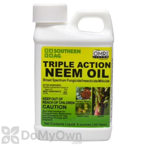 neem oil for bed bugs southern ag triple action neem oil