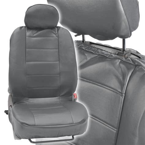 car seat covers with armrest premium leatherette car seat covers set w arm rest slot