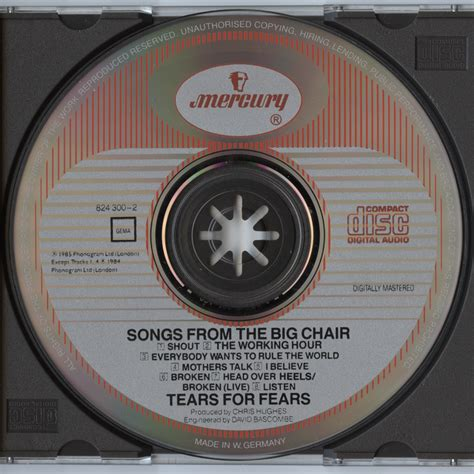 best tears for fears songs subatomic cd tears for fears songs from the big chair
