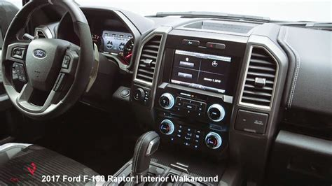 Ford Raptor Custom Interior by 2017 2018 Ford F 150 Raptor Interior Review Part 2 9