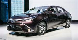 Toyota Electric Car In China Toyota To Launch Corolla And Levin In Hybrid In China