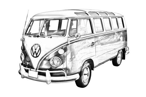old volkswagen drawing 14 coloring pages vw beetle modern beetle outline