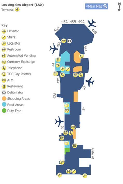 map los angeles lax picture foto car templates fotos l a x terminal maps