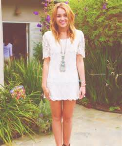 Cute Duvet Covers Like Urban Outfitters Miley Cyrus New Arrival White A Line Half Sleeve Lace Mini