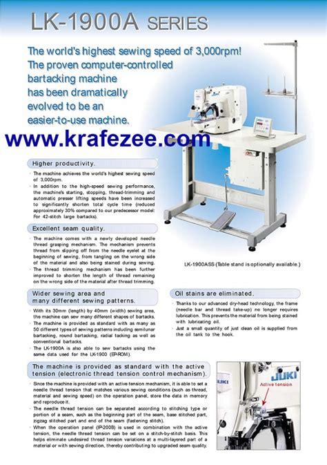Mesin Jahit Konwa mesin jahit bartack sewing machine juki singer konwa gemsy