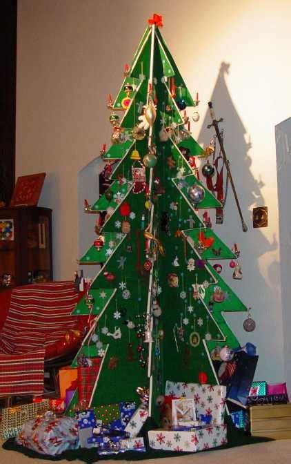 creative  unique christmas tree ideas lets celebrate