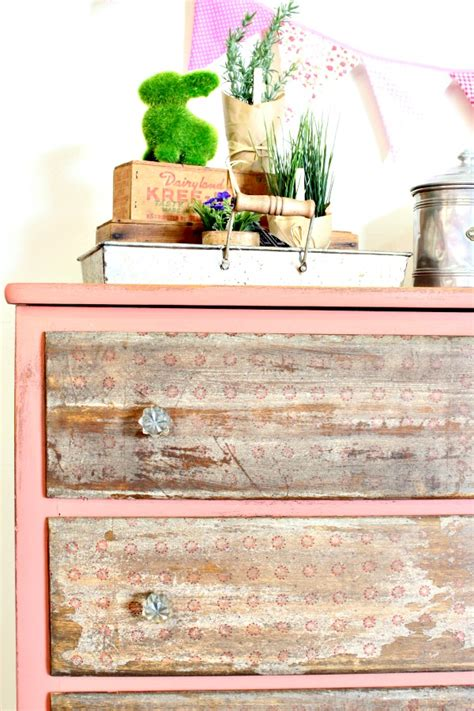 Decoupage With Napkins On Wood - decoupage napkin dresser refunk my junk