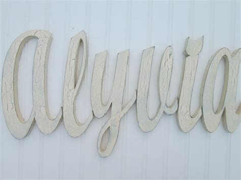 Decorative Wood Letters by Decorative Wall Letters Wooden Wall Letters By