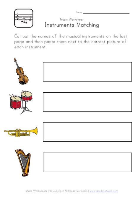 printable music games for kindergarten kindergarten music instruments worksheets 31 free esl