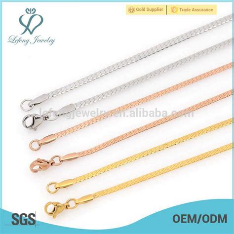 wholesale different types chains jewelry buy best