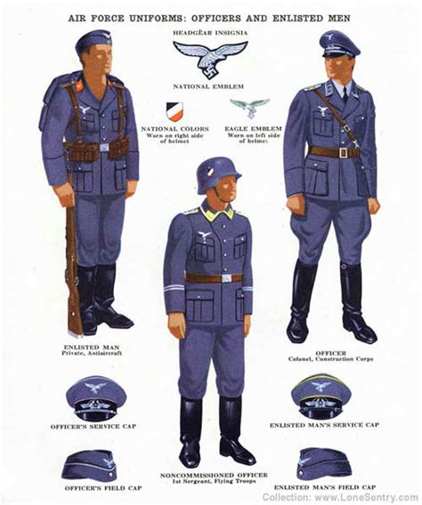 complete uniform of a german air force general item recuni 1 2 uniforms 171 lone sentry blog