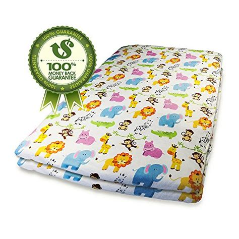 Pack N Play Crib Sheet by Pack N Play Fitted Crib Sheets 2 Pk Jungle Animal Print