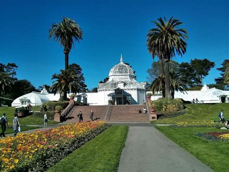 conservatory of conservatory of flowers at golden gate park san