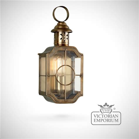 Outdoor Lantern Lighting Kensington Wall Lantern Antique Brass Outdoor Wall Lights