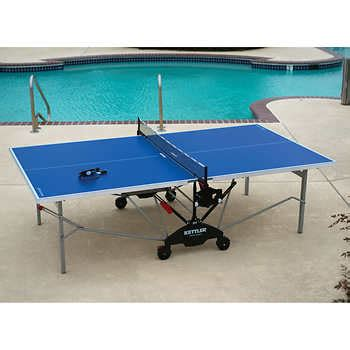 kettler ping pong table outdoor costco table tennis costco