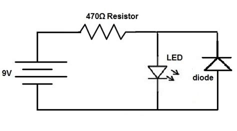 diode on circuit how to connect a protection diode in a circuit
