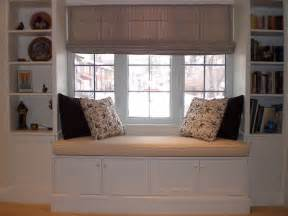 Window Seat With Bookshelves Hertle Avenue Custom Window Seat And Bookcase