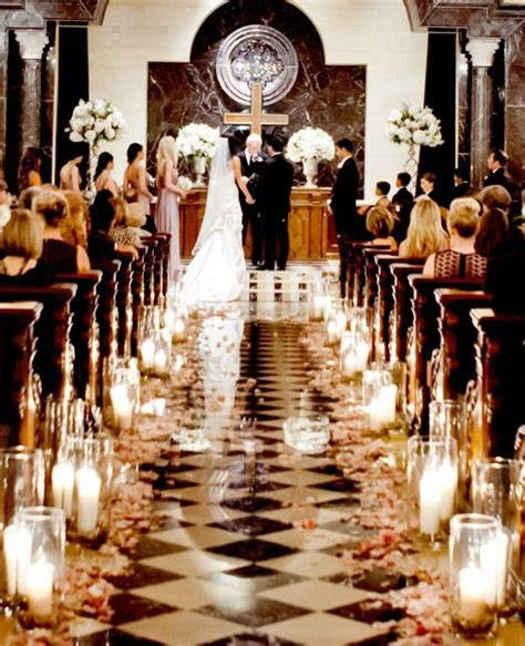 Wedding Aisle Decorations Church by Church Ceremony Decorations Archives Weddings Romantique
