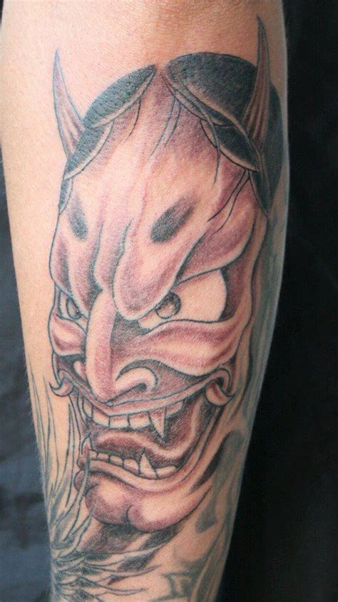 tattoo hannya mask pin red hannya mask tattoo pic 18 on pinterest