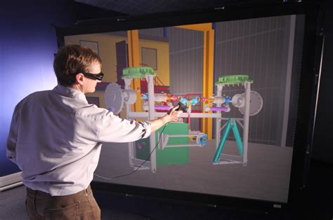 virtual reality design for manufacturing christie mirage 3d projectors for national grid rave
