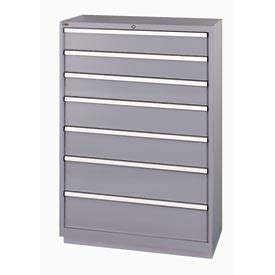 shallow drawer storage cabinet cabinets modular drawer lista 174 7 drawer shallow depth