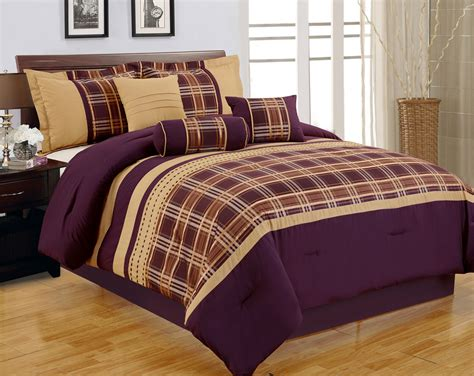 Purple And Gold Comforter Sets Home Design And Interior