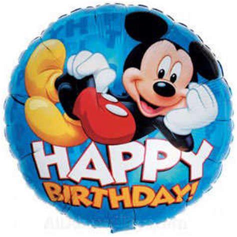 Balon Happy Birthday Mickey Mouse 22094 feliz cumplea 241 os mickey mouse