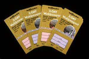 World Ticket Wdwthemeparks Walt Disney World Tickets