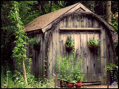 Rustic Primitive Home Decor by Old Garden Sheds Vintage Garden Sheds Old Garden Shed