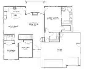 Open Floor Plan Blueprints Open Floor Plans Open Floor Plans Patio Home Plan House Designers House Plans