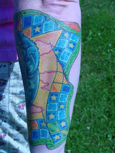 quilt tattoo quilt sleeve 3 picture
