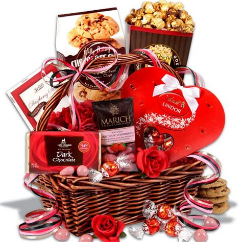 baskets for valentines day s day basket