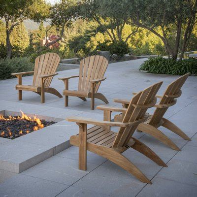 Patio Adirondack Chair by Buying Tips For Choosing The Best Teak Patio Furniture