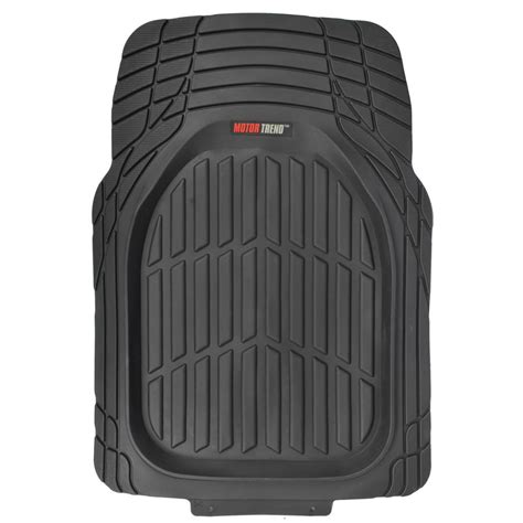 Heavy Duty Rubber Car Floor Mats by Dish Heavy Duty Rubber Car Floor Mats 4pc Front Rear