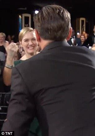 who was the first actress in a star is born sag awards winner leonardo dicaprio celebrates with hug
