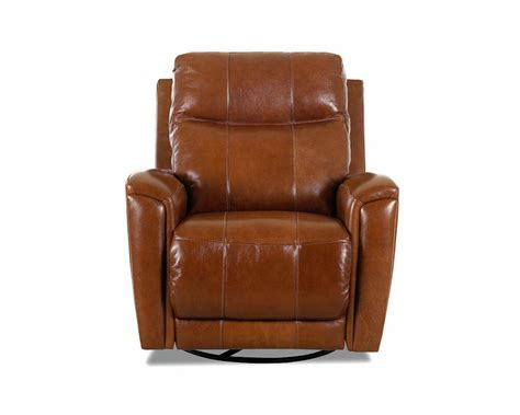 american made reclining swivel leather chairs clp103