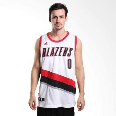 Jual Adidas Damian Lillard jual adidas basketball nba portland trail blazers damian lillard swingman putih jersey