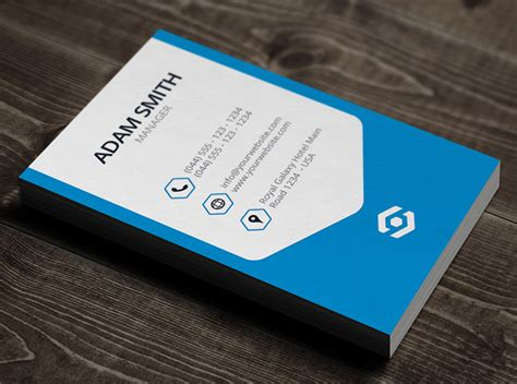 id card design vertical psd creative business cards design print ready design
