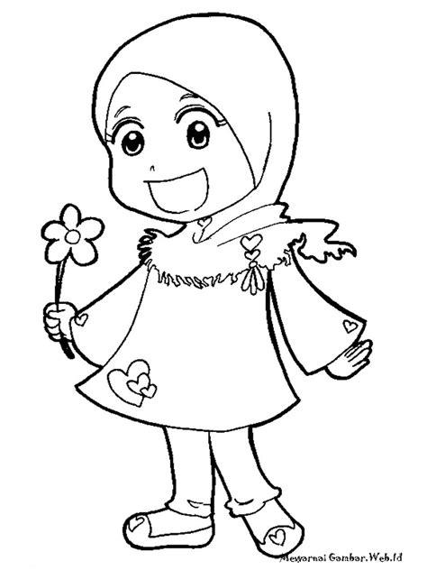 Boneka Lucu Dan Imut Jarwo by Gambar Kartun Anak Perempuan Berjilbab Top Gambar