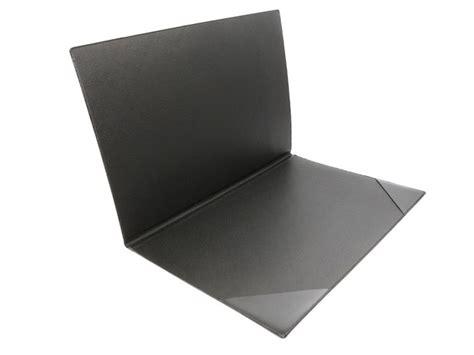 sous bureau sous de bureau en cuir noir 224 rabat sous cuir