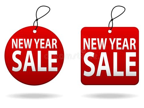 new year sale vector new year sale tags stock vector image of ecommerce