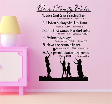 cool dude clock face quote phrases sayings vinyl sticker family rules wall quotes heart of country music