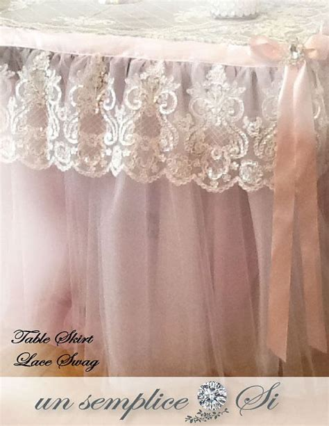 how to a table skirt 25 best ideas about tulle table skirt on