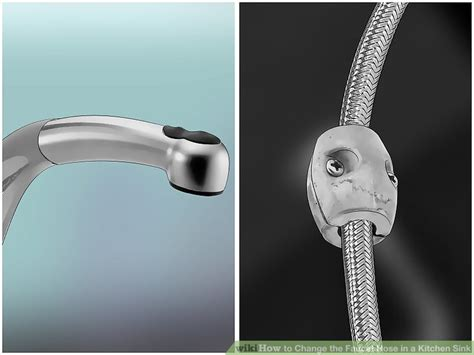 how to change the kitchen faucet how to change the faucet hose in a kitchen sink with pictures