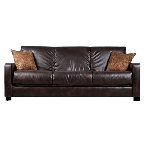 brown leather futon sofa bed buy a walmart futon sofa bed brown leather futon