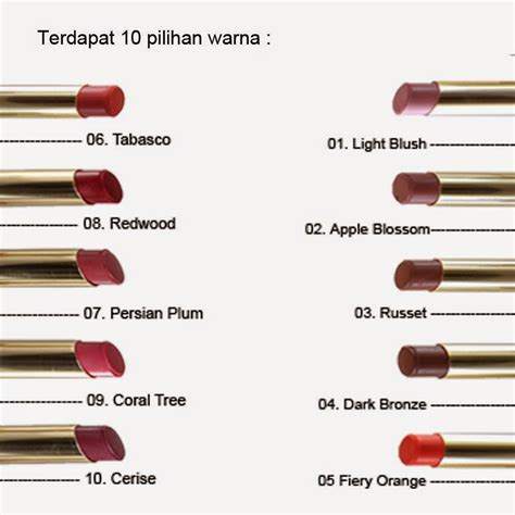 Harga Wardah Lip Di Counter tips cantik by amanda an 10