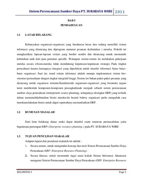 format penulisan makalah studi kasus makalah sistem informasi akuntansi spsdp studi kasus pt